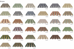 Defab Somerton Canvas Stripes Colour Options
