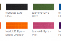 defab tearlok eyre colour options